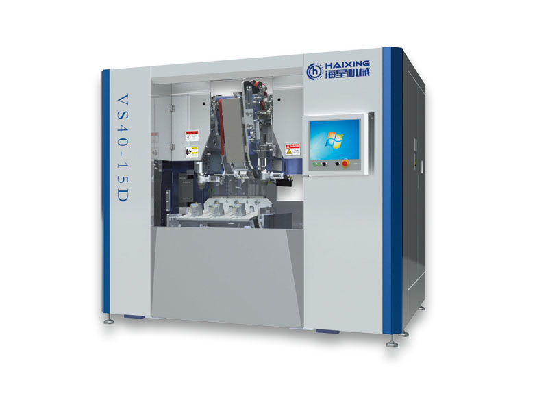 5 AXIS 3 HEADS DRILLING AND TUFTING MACHINE (FOR SHORT HAIR)